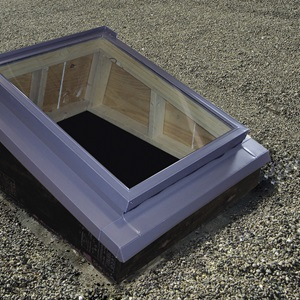 VELUX Skylight Flashing Systems for roofs | Deck and Curb