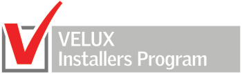 velux vip installers logo boxed