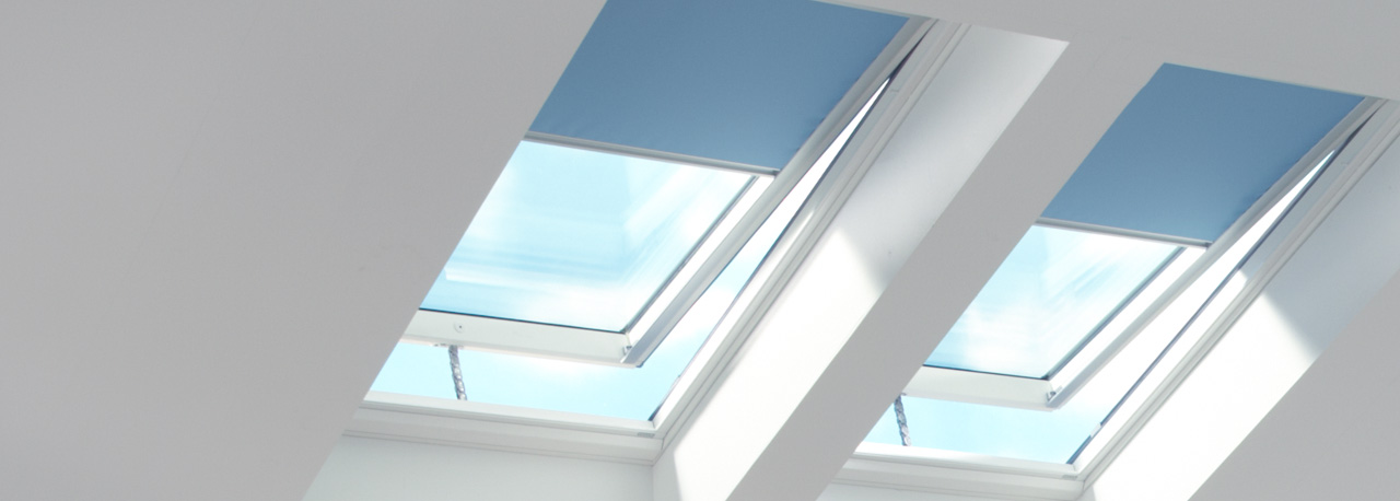 Velux skylight blinds factory installed special order Velux skylight shade