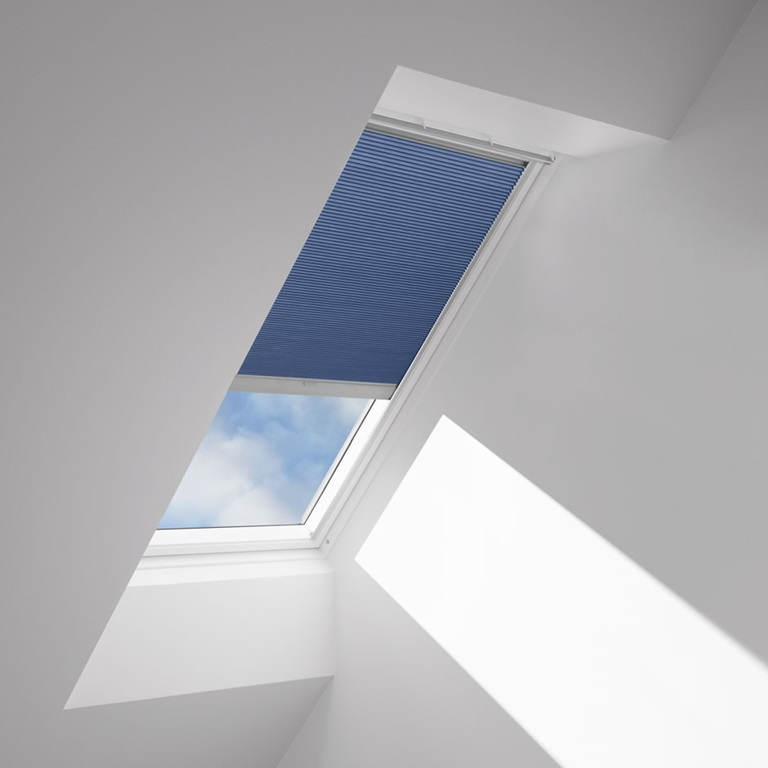 Velux blackout blinds solar and manual Velux skylight shade