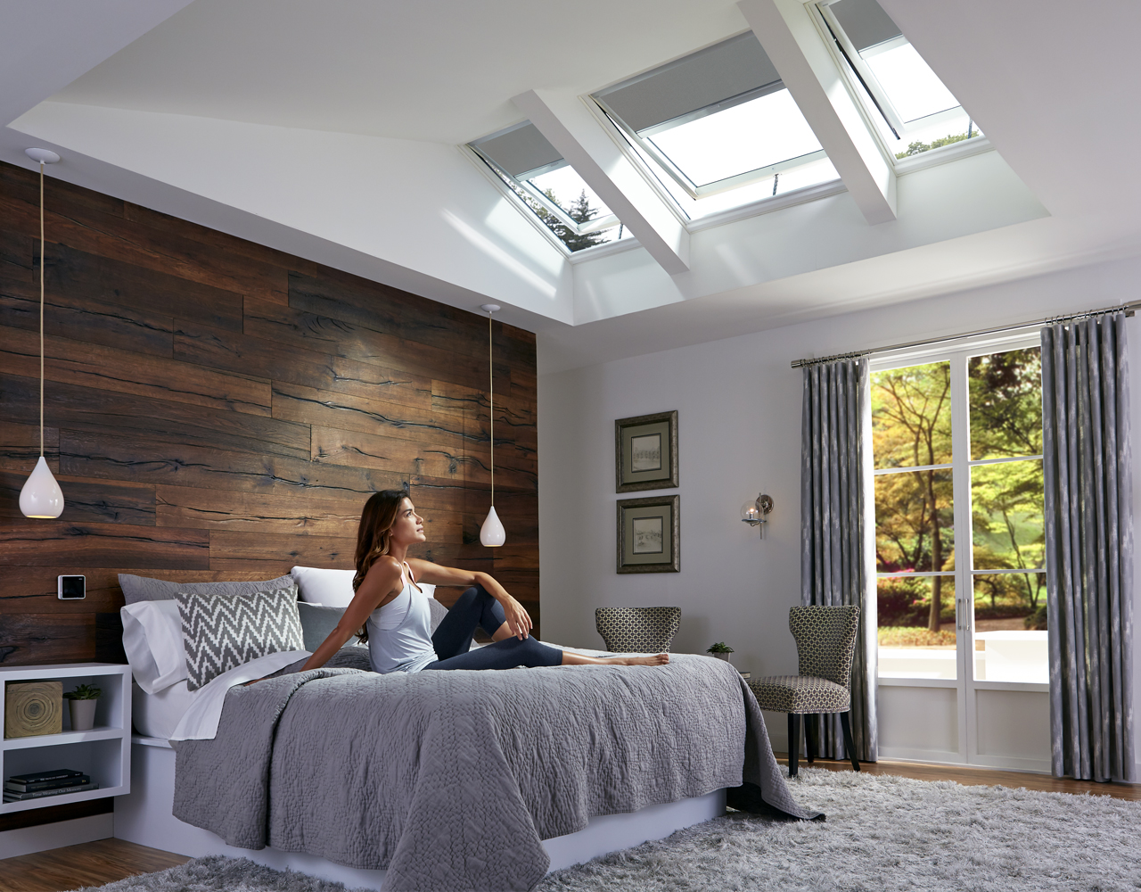 Velux bedroom inspiration gallery of images for Bedroom inspiration gallery